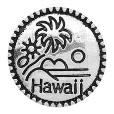 20MM snap Hawaii sliver plaqué avec KC6624 snaps bijoux