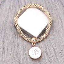 1 buttons With  snap gold  bracelet fit snaps jewelry KC0559