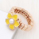 1 buttons 12MM snap gold Ring fit snaps jewelry KS1305-S