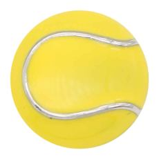 20MM Tennis with yellow enamel snap sliver Plated KC6661 snaps jewelry