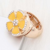 1 buttons snap gold Ring fit snaps jewelry KC1324