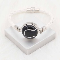 20MM Tennis mit schwarzem Emaille-Snap-Splitter Überzogener KC6662-Snap-Schmuck