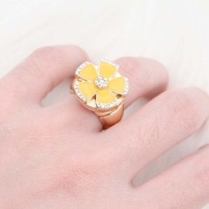 1 Knöpfe Snap Gold Ring Fit Snaps Schmuck KC1324