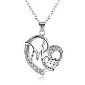 Mother's Day gift diamond necklace 46CM
