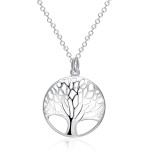 Fashion hollow tree necklace for women 46CM