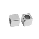 4 tipos Partnerbeads Tamaño de orificio de acero inoxidable Cuentas de fijación de 2.5 mm