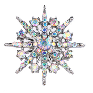 20MM design snap Silver Plated With colorful rhinestones charms KC9431 snaps jewerly
