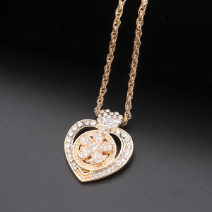 Halskette 46cm Kette Gold KS1308-S fit 12MM Brocken schnappt Schmuck