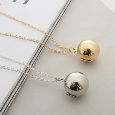 Commemorative Secret information ball small box 65CM Necklace