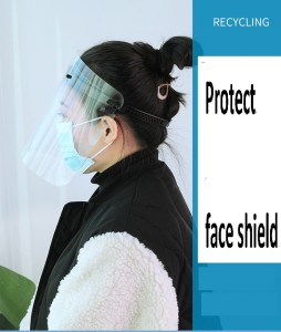 MOQ10 Protection mask face shield  masks can block the aerosol and protect  safely