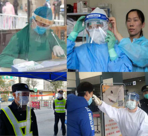 MOQ10 Protection mask face shield masks can block the aerosol and protect it more safely