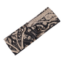Bohemian style printed Headband New Women's fabric wide  hair band bandans