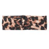Serre-tête léopard large bandeau