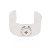 1 boutons pression bracelet argenté fit boutons pression bijoux KC0578