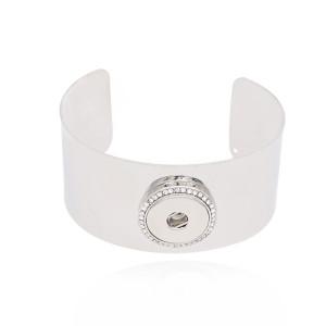 1 кнопка оснастки серебристый браслет подходят защелки ювелирные изделия KC0578