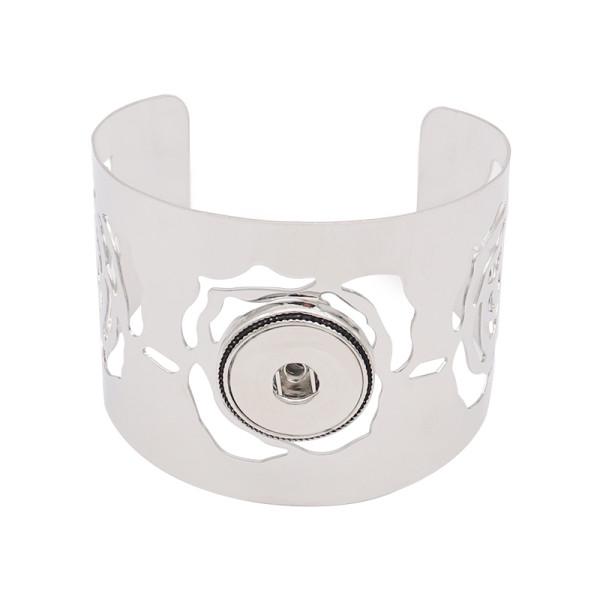 1 кнопка оснастки серебристый браслет подходят защелки ювелирные изделия KC0579