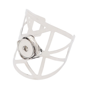 1 кнопка оснастки серебристый браслет подходят защелки ювелирные изделия KC0576