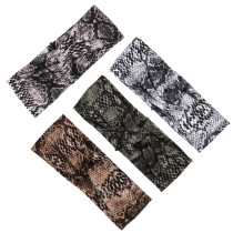 Bandeau de cheveux serpentine animal bandans