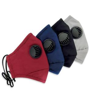 Dust and haze prevention with breathing valve protective mask PM2.5 cotton mask can be washed