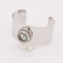 1 buttons snap silvery bracelet fit snaps jewelry KC0578