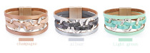 Bohemian Bracelet multi layer leather fashion bracelet