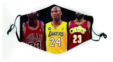 NBA team Lakers heat warriors bucks, Mavericks, magic rockets, grizzlies, 76ers, sun civilian PM2.5 mask