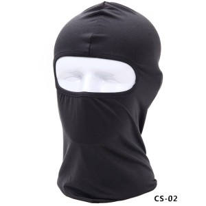 Lycra soft equipment outdoor cycling motorcycle windproof, sunscreen and dustproof CS mask mask mask mask head cover mask hat