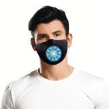 MOQ10 3D digital printing protective mask can put PM2.5 filter adult  face mask