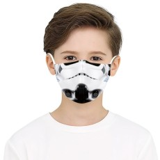 子供3Dデジタル印刷保護マスクはPM2.5フィルターフェイスマスクを置くことができます