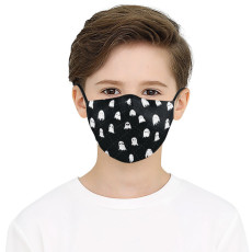 Children 3D digital printing protective mask can put PM2.5 filter face mask
