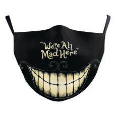 La máscara protectora de impresión digital MOQ10 3D puede poner máscara facial para adultos con filtro PM2.5