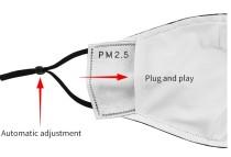MOQ10 3D Digitaldruck Schutzmaske kann PM2.5 Filter Erwachsenen Gesichtsmaske setzen