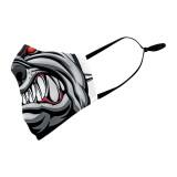 Le masque de protection d'impression numérique 3D peut mettre un masque facial adulte pour filtre PM2.5