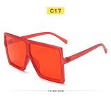 Солнцезащитные очки с большой оправой женские квадратные многоцветные