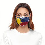 3D digital printing protective mask can put PM2.5 filter adult  face mask