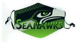 Masque de football NFL Jaguar Bill Seahawk Giant Eagle Pirate 49 personnes masque anti-poussière et lavable