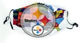 Masque civil de l'équipe de football MOQ10 NFL, jet d'homme en acier, corbeau, poney, peau rouge, Mustang, coton, masque anti-poussière, lavable PM2.5