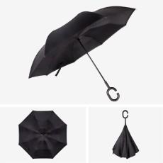 Paraguas inverso paraguas de regalo gratis paraguas a prueba de viento y humedad