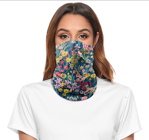 digital print outdoor face mask sports mountaineering insect proof sunshade hat magic scarf