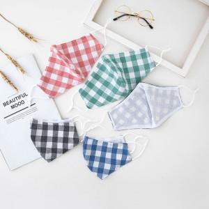 Le masque facial en coton inséré pour hommes et femmes est chaud, confortable et respirant, la coupe en trois dimensions peut être lavée et réutilisée