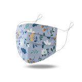 Soft and comfortable cotton breathable mask, adjustable three-dimensional washing