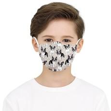 Le masque de protection d'impression numérique 10D d'enfants MOQ3 peut mettre le masque facial de filtre PM2.5