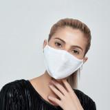 Masque solaire à paillettes MOQ10 avec insert filtrant PM2.5 masques colorés pour hommes et femmes respirants