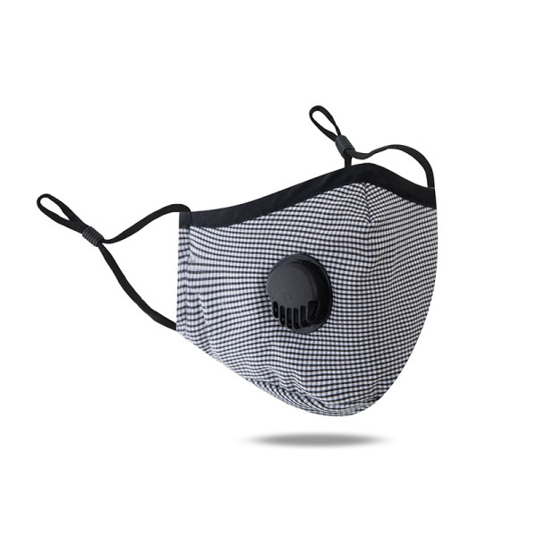 MOQ10 Dustproof, breathable, washable mask, adjustable ear buckle face mask With breathing valve