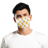 Le masque de protection d'impression numérique MOQ10 3D peut mettre le masque facial adulte de filtre PM2.5
