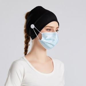 MOQ10マスク、ボタン付きヘア、マスク付きヘア、絞殺防止付きヘッド、ソリッドヘアバンドバンダン