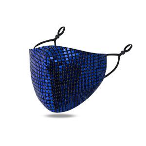 MOQ10 Staubdichte, atmungsaktive, waschbare Maske, verstellbare Gesichtsmaske mit Ohrschnalle