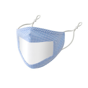MOQ10 Face Mask With Clear Window, Dustproof, breathable, washable mask, adjustable ear buckle transparent face mask