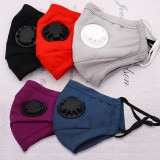 MOQ10 Children's mask Face mask Dust and haze prevention with breathing valve protective mask PM2.5 cotton mask washable