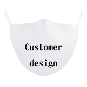 Custom masks from customers 3D digital printing protective mask can put PM2.5 filter adult and children  face mask